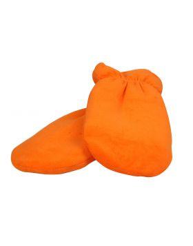 Orange handskar - för paraffinvax