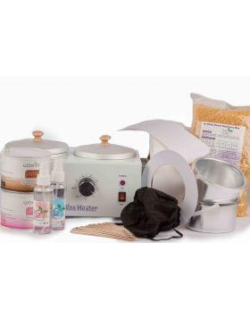 Potty vax kit välja mellan enkel eller dubbel värmare